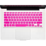 """Kuzy - Pink Keyboard Silicone Cover Skin For Macbook / Macbook Pro 13"""" 15"""" 17"""" Aluminum Unibody (Fits Macbook With Or W/Out Retina Display)"""