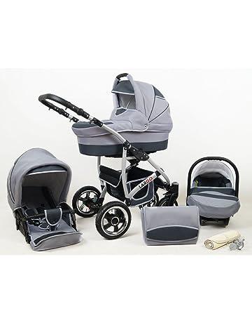 Baby Pram Pushchair Stroller Buggy Travel System Set Raff Largo + Baby Bag  + Rain Cover 286e82a9bd