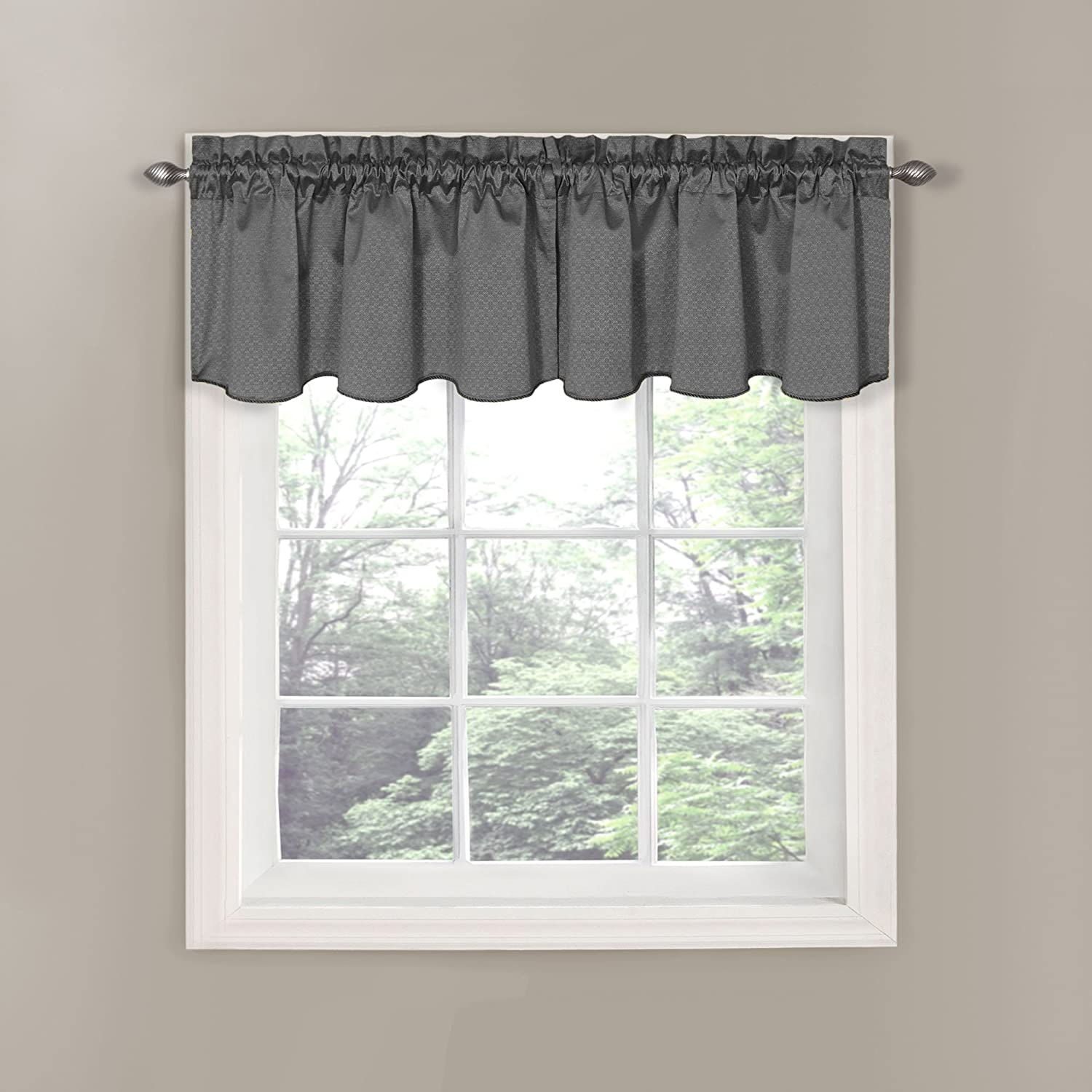 idea white valances for decorations attractive design and of valance floral grey elegant image gray gentle
