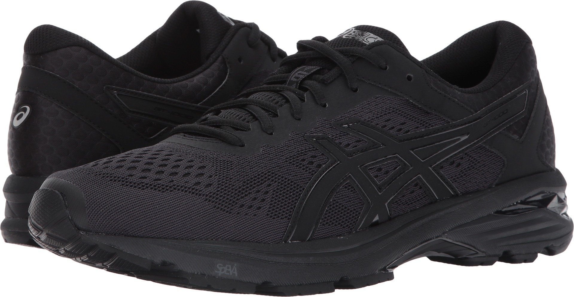 ASICS Men's GT-1000 6 Running Shoe, Black/Black/Silver, 10.5 Medium US