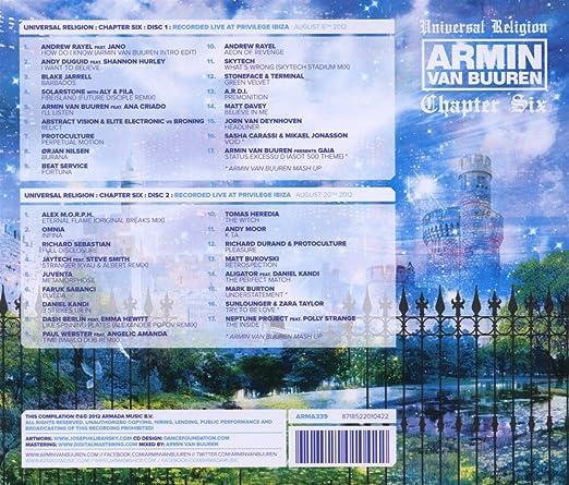Universal Religion 6: Armin Van Buuren: Amazon.es: Música