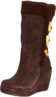 18a96ce62094 Rocket Dog Womens Ladies Boyd Fur Lined Suede Wedge Heel Platform ...