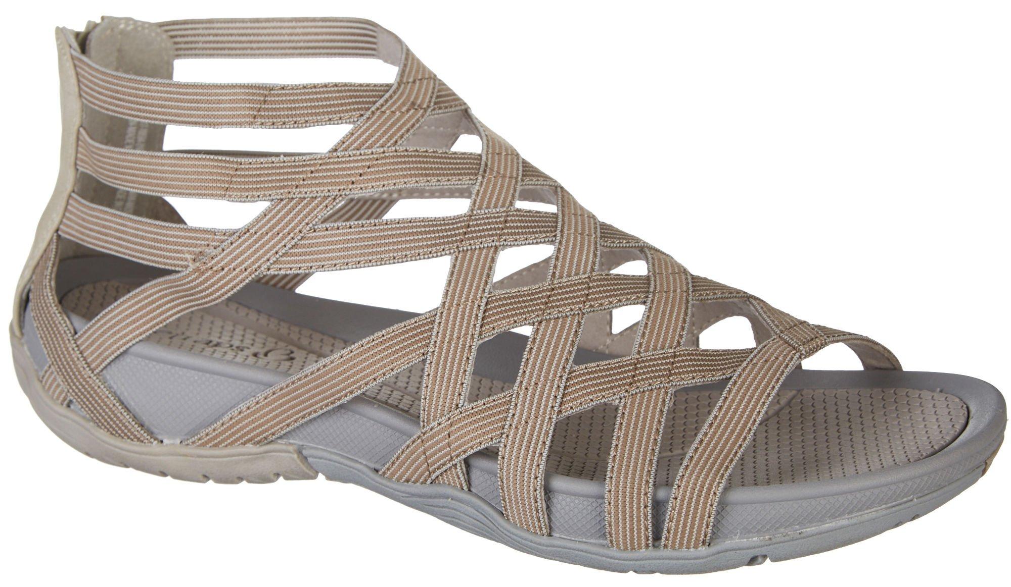 BareTraps Womens Samina Sandals 11 Taupe