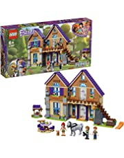 LEGO 41369 Friends Mia's House Set, 3 mini-dolls Rabbit and Horse Figures, Build and Play Dollhouse Toys for Kids, Multi-Colour