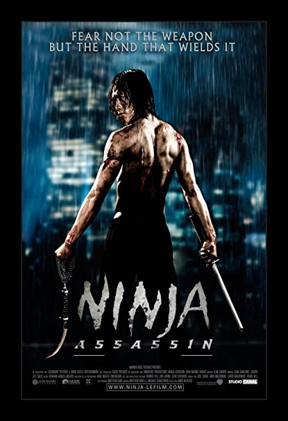 Amazon.com: Ninja Assasin - 11x17 Framed Movie Poster by ...