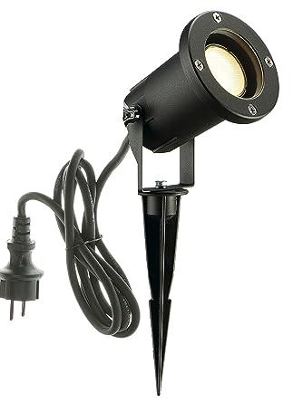 SLV LED Strahler NAUTILUS XL mit Erdspieß | Außenlampe für die ...