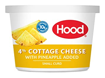 Hood, Cottage Cheese With Pineapple, 16 Oz