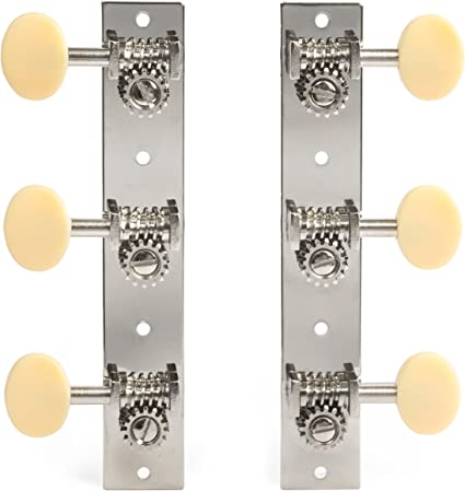 Golden Age Economy 3-on-Plate Guitar Tuning Machines
