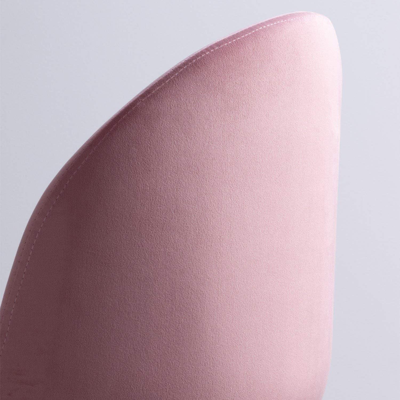 SKLUM Silla de Comedor en Terciopelo Kana Terciopelo Gris Elige Color