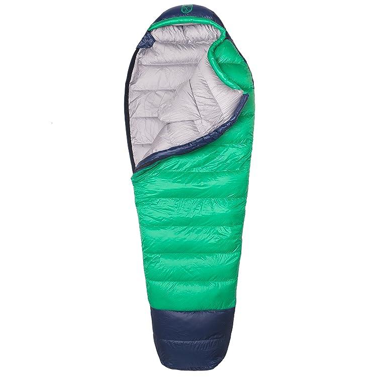 Thermodown 0 Degree Down Mummy Sleeping Bag - Ultralight Cold Weather, 4 Season Bag
