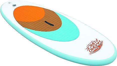 Lola Home 8321642 Tabla Paddle para Surf sin Remo, 204 x 76 x 10 cm, Unisex, Blanco