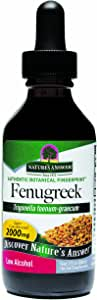 Nature's Answer Fenugreek Seed with Organic Alcohol, 2-Fluid Ounces