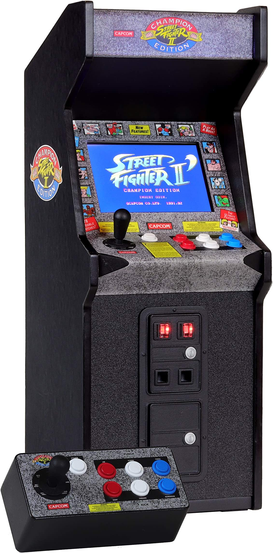 Amazon.com: New Wave Toys Street Fighter II X Replicade ...