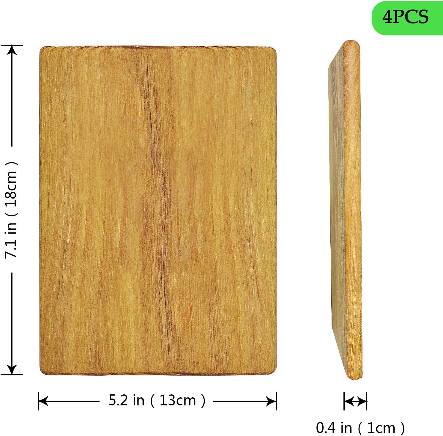 Sandwich Small Cheese Board for Personal,Cheese Gift Set Fruit Aciiker 4 Piece 7x5 inch Solid Wood Cheese Board Sets for Chopping Cheese