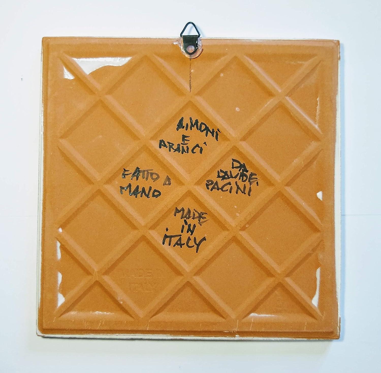 bereit Hund-Malerei auf Leinwand handgefertigt Karton cm10x15x0,3cm Gr/ö/ße erstellt von Davide Pacini. an der Wand befestigt zu werden-MADE IN ITALY Lucca