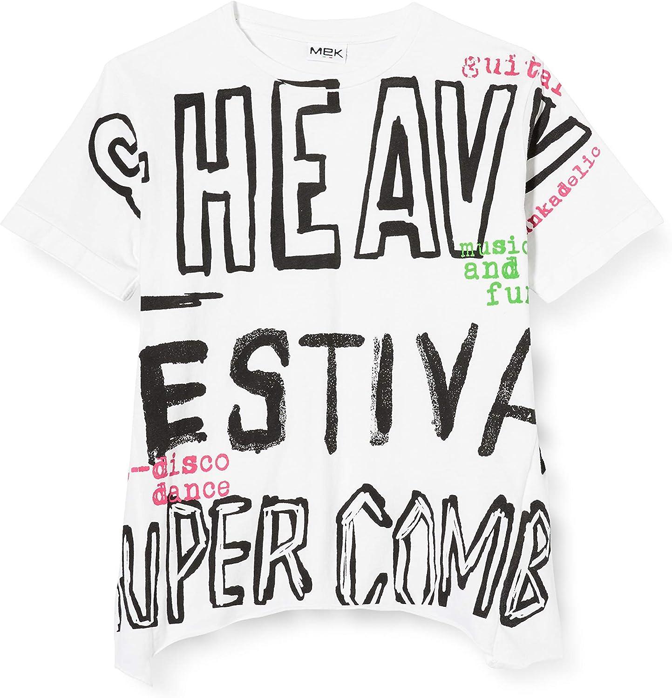 MEK T-Shirt Jersey Over Camiseta de Tirantes para Niños: Amazon.es: Ropa y accesorios