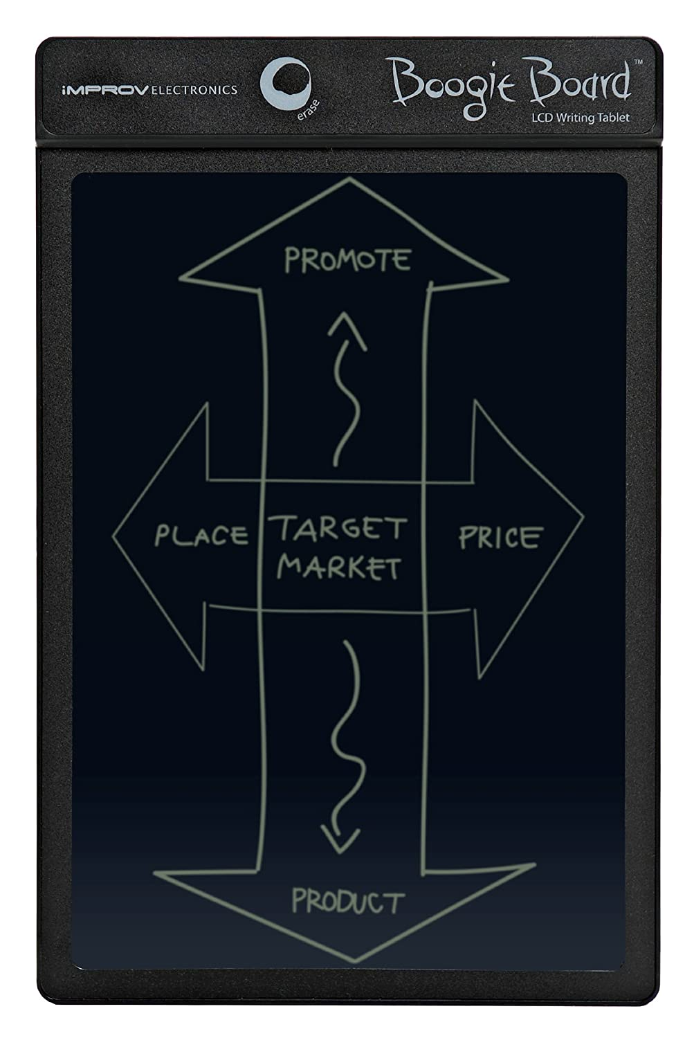 Amazon Boogie Board 85 Inch Lcd Writing Tablet Black