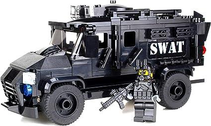 Instructions to build a custom Lego Fire Rescue Truck NO BRICKS