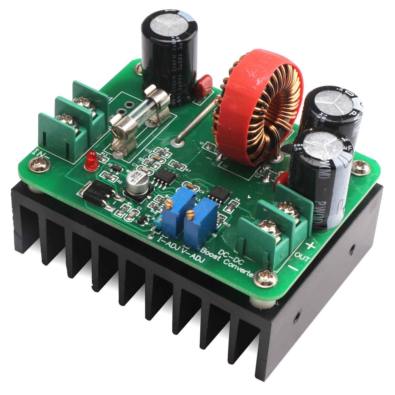 Drok Dc Boost Converter 12 60v To 80v Step Up Simple Circuit 12v 120v Audio Amplifier Schematic Voltage Regulator 600w Auto Power Supply Transformer Adjustable Output Volt Controller