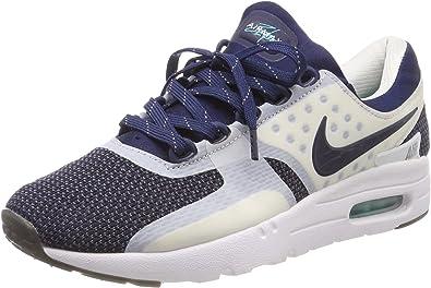 Nike Air MAX Zero QS, Zapatillas de Running para Niños, Blanco/Azul (White/Mid Navy-Rftbl-Hypr JD), 36 1/2 EU: Amazon.es: Zapatos y complementos