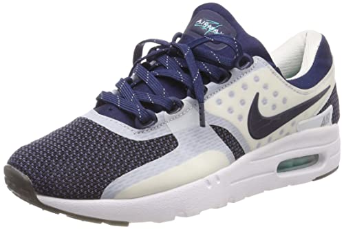 los angeles 71dde ee311 Nike Boys' Air Max Zero Qs Running Shoes Multicolour Size: 4 ...