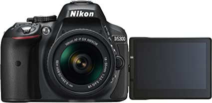 Nikon D5300 Kit con objetivo AF-P 18-55mm VR: Amazon.es: Electrónica