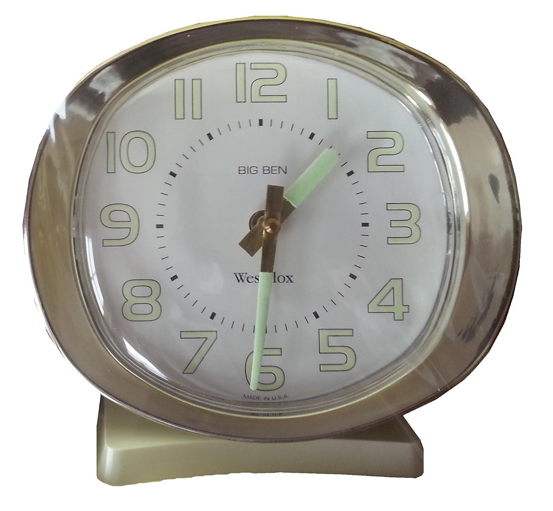 Westclox Big Ben Deluxe Alarm Clock Metal Case Loud Amazon