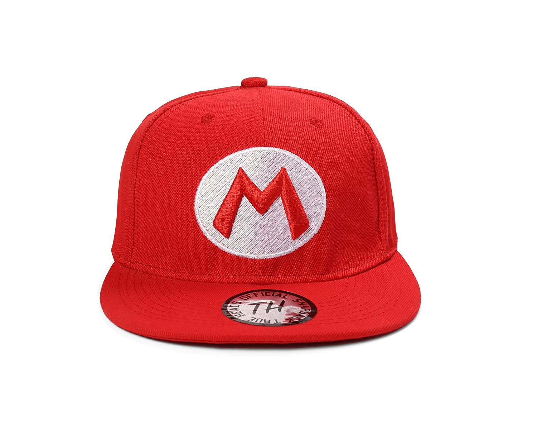 88b0d604e3559 True Heads Red Super Mario   Green Luigi Snapback Baseball Caps   Amazon.co.uk  Sports   Outdoors