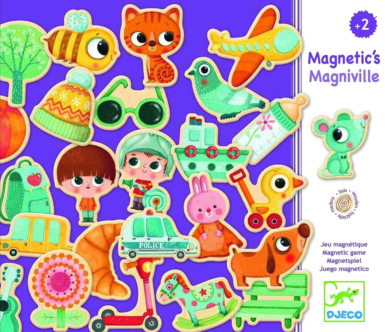 Djeco Adventskalender und Magnetspielzeug, Mehrfarbig (DJ03123)