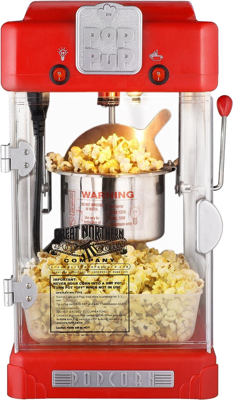 6074 Great Northern Popcorn Machine Pop Pup Retro Style Popcorn Popper