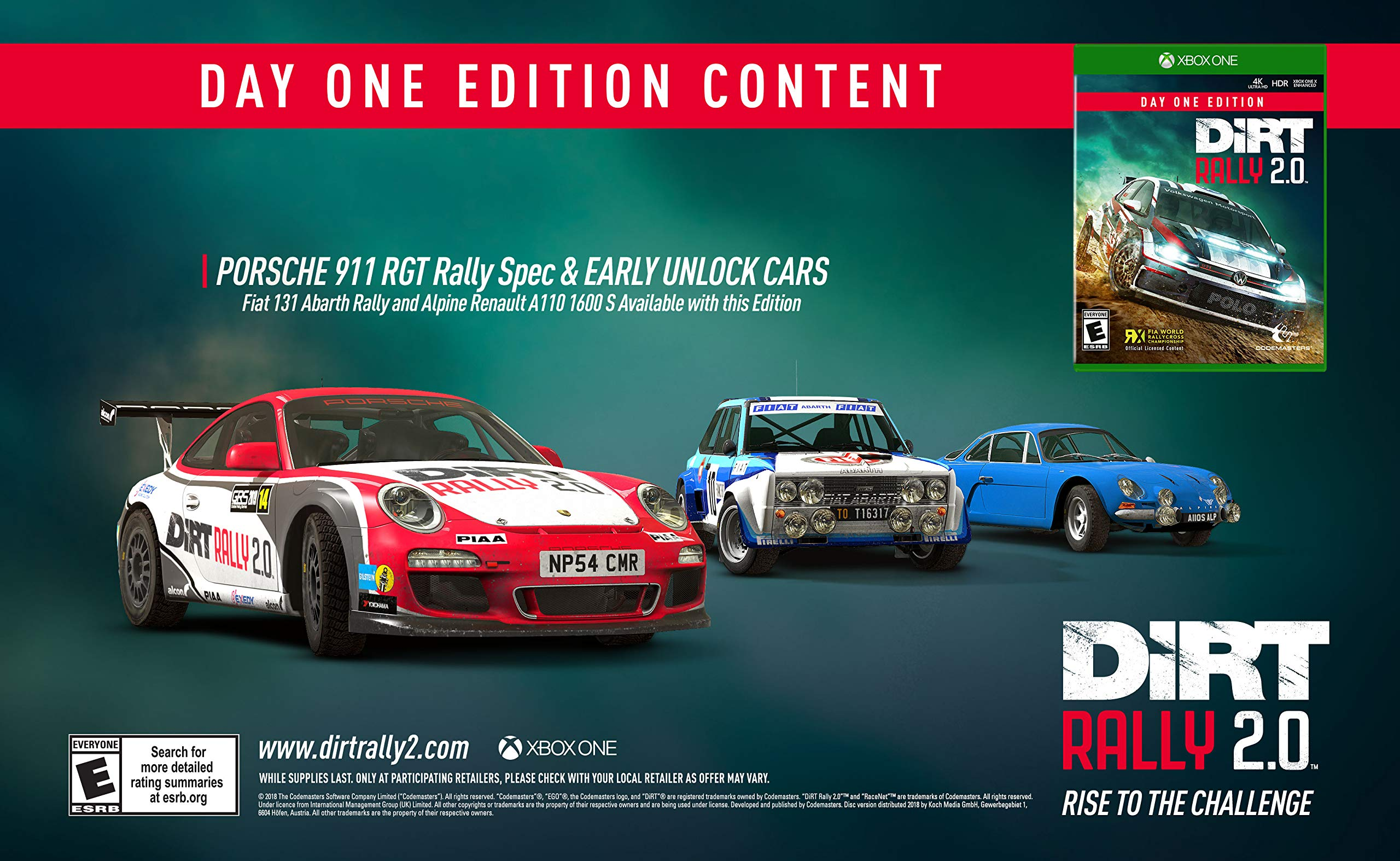 DiRT Rally 2.0 - Xbox One by Deep Silver (Image #3)