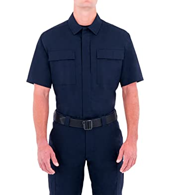 First Tactical Herren Specialist Kurzarm BDU Shirt Midnight Navy Größe S Reg