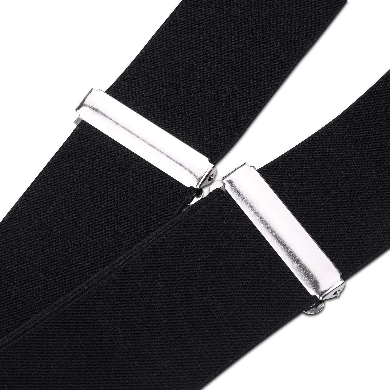 Trimming Shop Mens Suspenders Braces Fully Elastic Plain