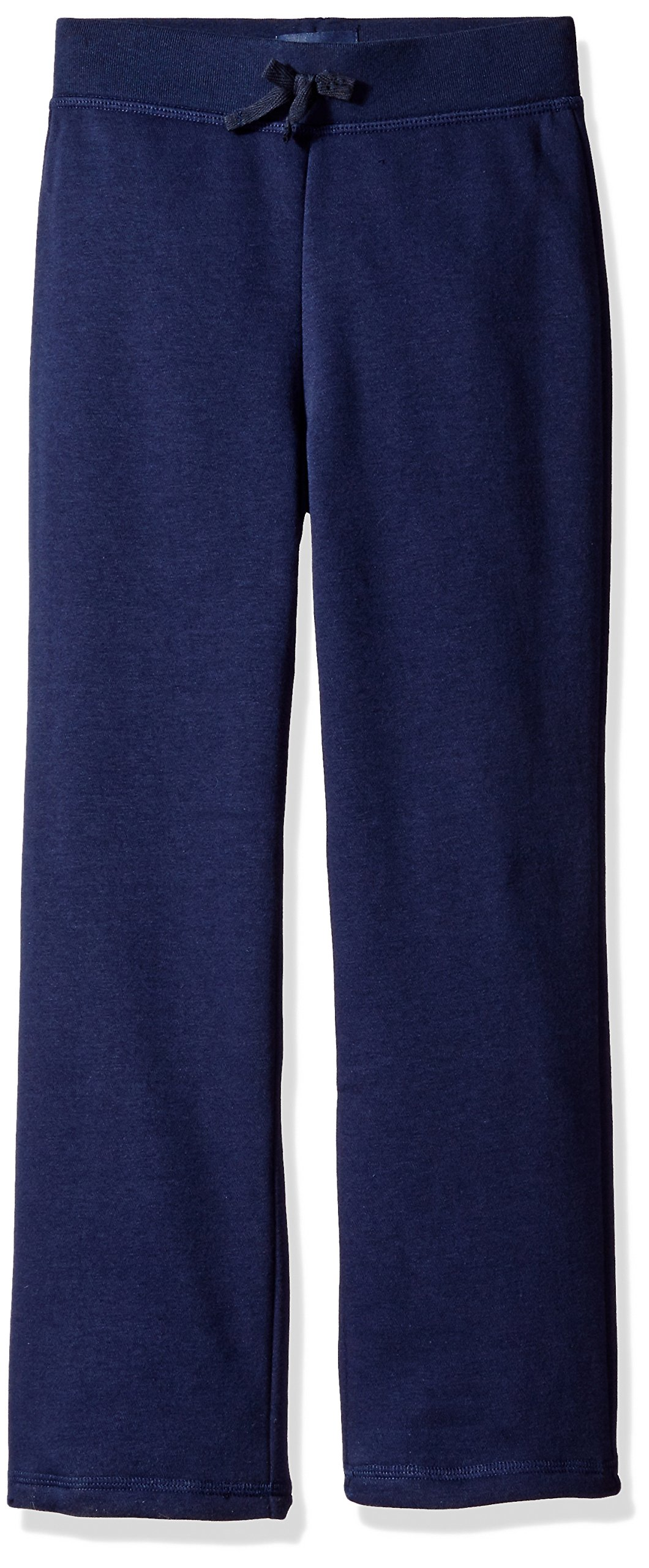 The Children's Place Little Girls' Gym Uniform Fleece Pant, Tidal, Small/5/6