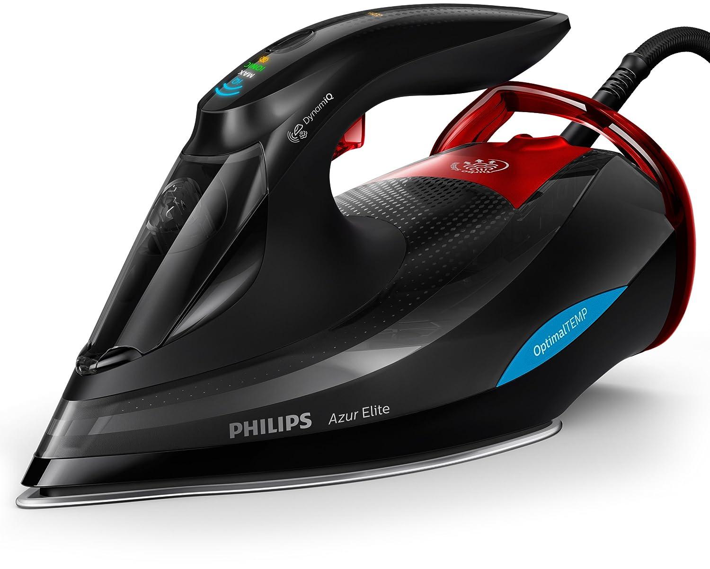 Philips Azur Elite GC5037/80Fer à repasser à vapeur (avec mode DynamiQ, jet de vapeur 260g et système intelligent d'élimination rapide du calcaire)