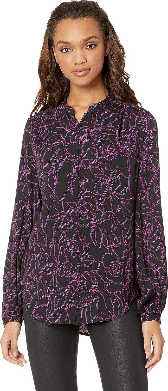 3b47a1ca13c04 Amazon.com  Equipment Women s Cornelia True Black Amaranth X-Small  Clothing