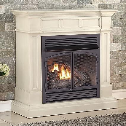 Amazon Com Duluth Forge Dual Fuel Vent Free Fireplace 32 000 Btu