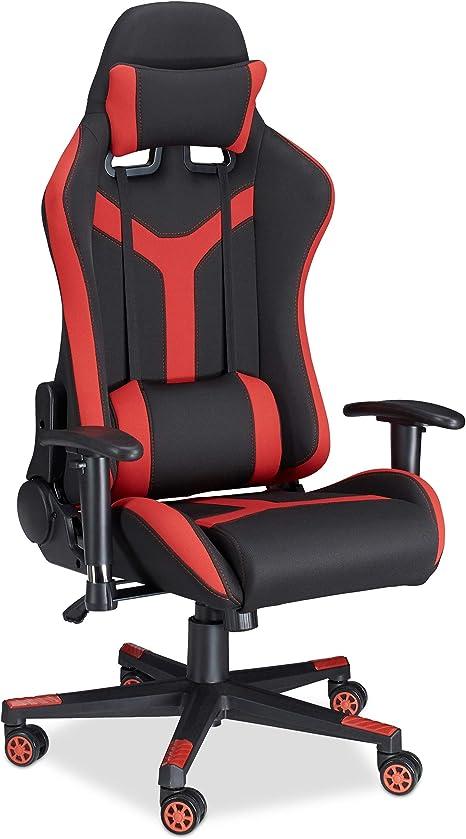 verstellbar Gaming Stuhl XR10 Gamer Chair Bürostuhl bis 120kg Computerstuhl