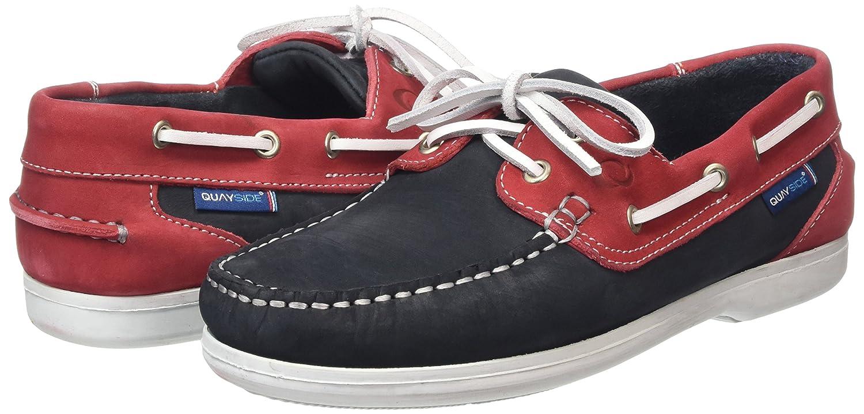 QUAYSIDE Damen Bermuda Stiefelschuhe Blau - - - Blau (Navy Magenta) 39.5 EU 80e10a
