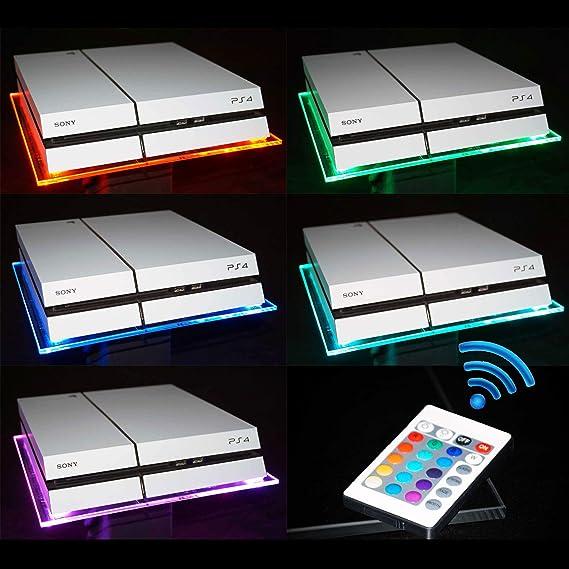 RGB LED USB Diseño Acrílico plexiglás untersätzer Soporte para ...