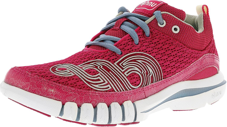 Ahnu Women's Yoga Flex Dragon Fruit Ankle-High Cross Trainer Shoe - 10.5M