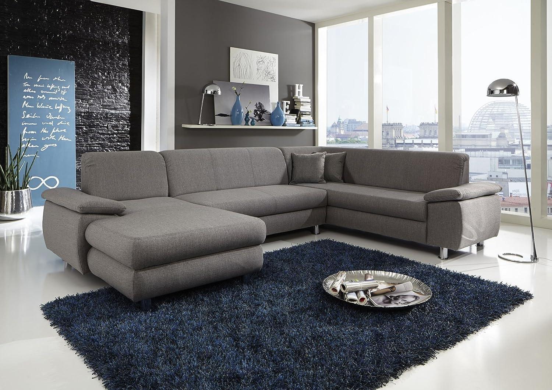 Garnitur Sofa Wohnlandschaft Rio Mit Schlafcouch Xxl U Form Gunstig