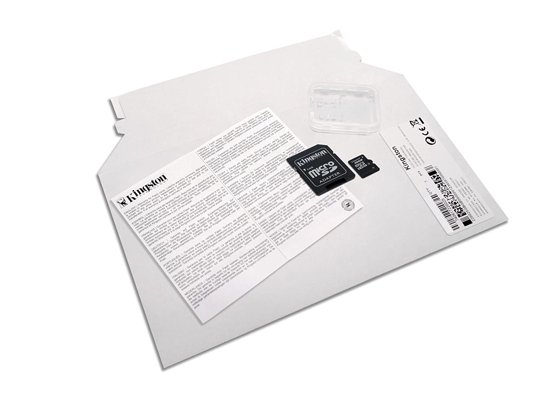 Kingston microSDHC Class 4 - Tarjeta de memori, paquete abrefácil, 32 GB