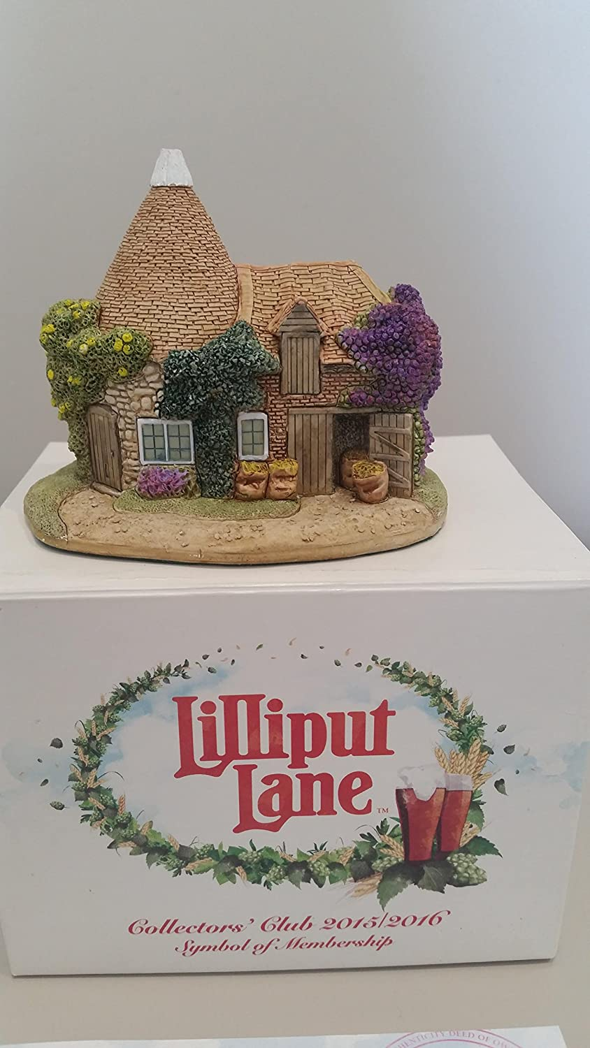 Lilliput Lane The Hop Pickers Cottage, Made In England