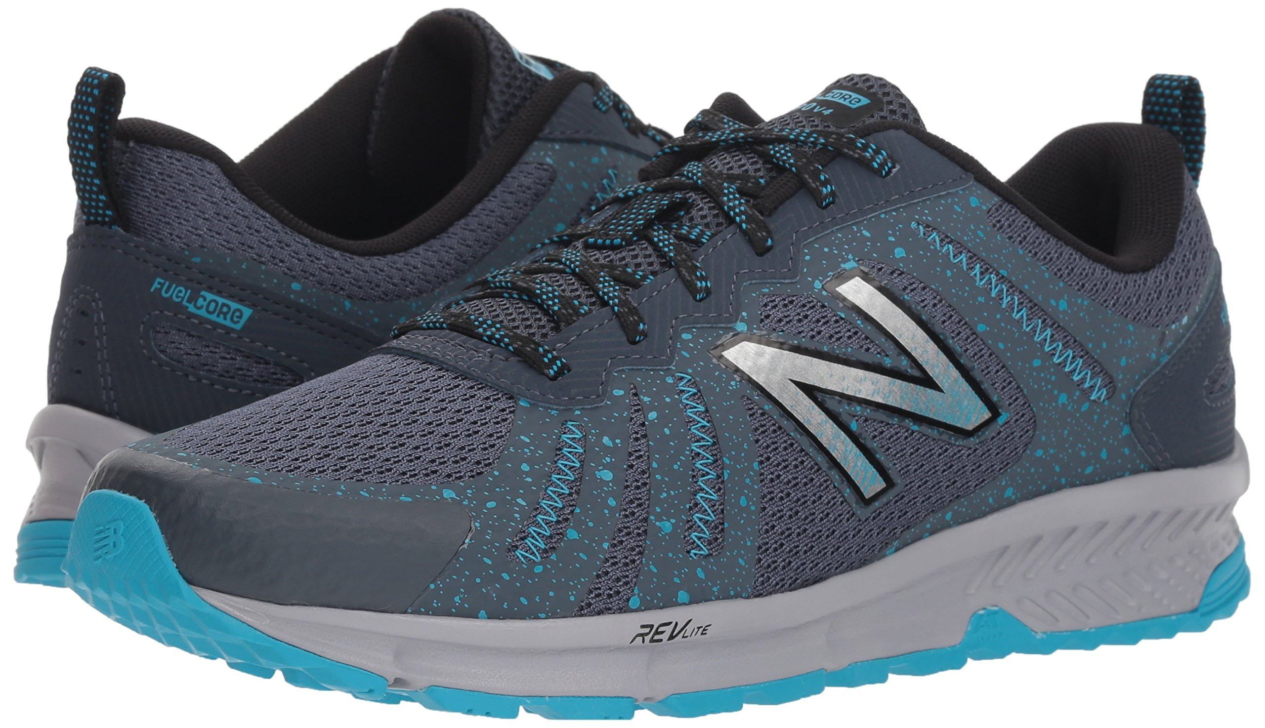 New Balance Women's 590v4 FuelCore Trail Running Shoe Dark Grey 6 D US by New Balance (Image #5)