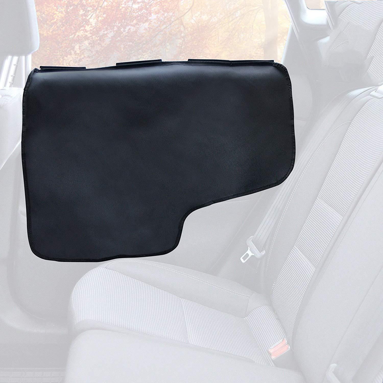 Asocea Porte de voiture protecteur pour chiens 2/pi/èces, noir porte de voiture Scratch Guard Shield Panneau lat/éral Coque