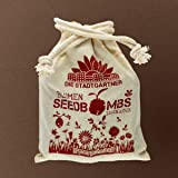 """Samenbomben """"Bienenschmaus"""" - 8x walnussgroße und handgemacht Seedbomben für Bienen"""