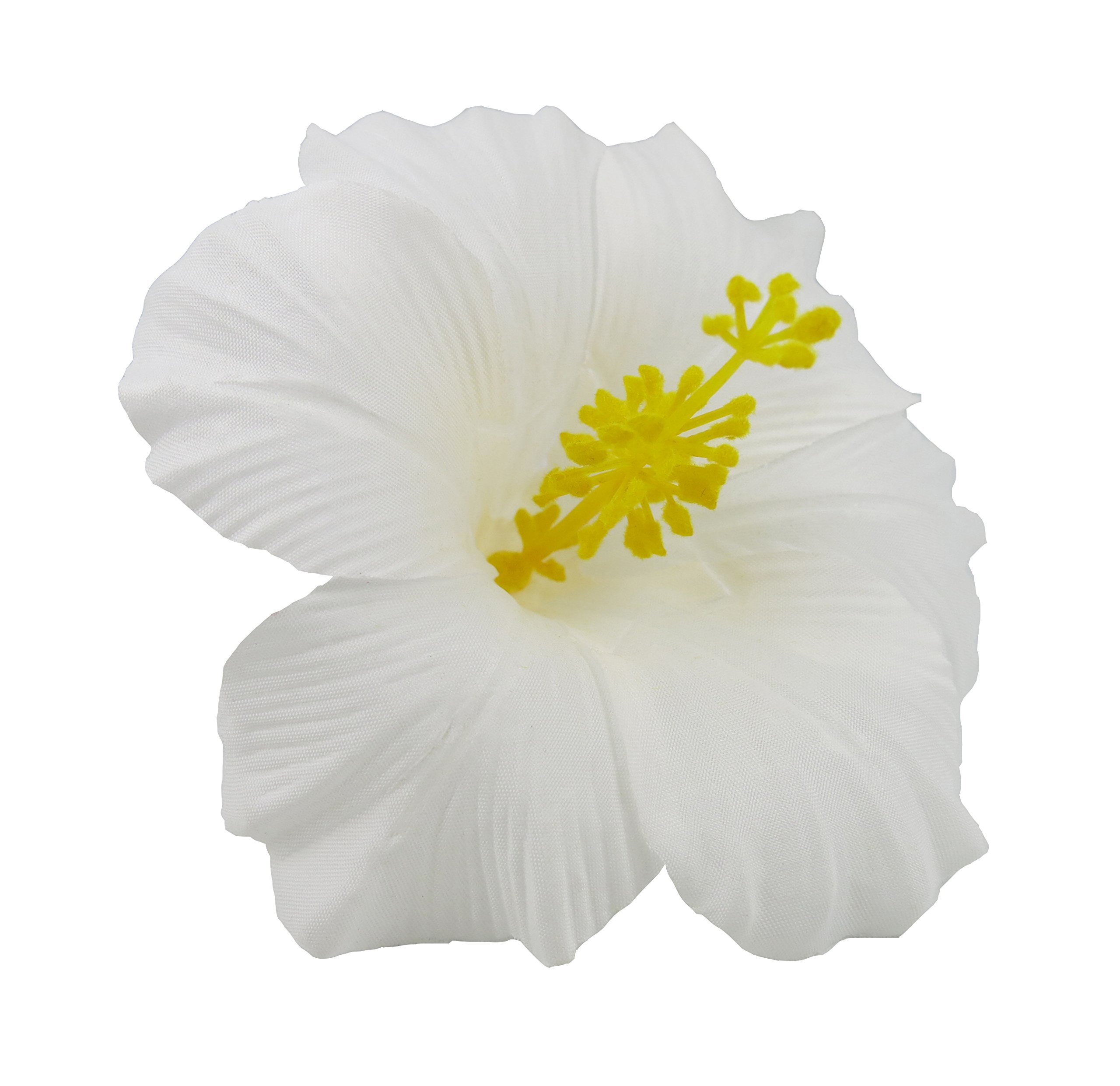 Amazon hawaiian hibiscus flower hair clip red beauty hawaiian hibiscus flower hair clip white izmirmasajfo