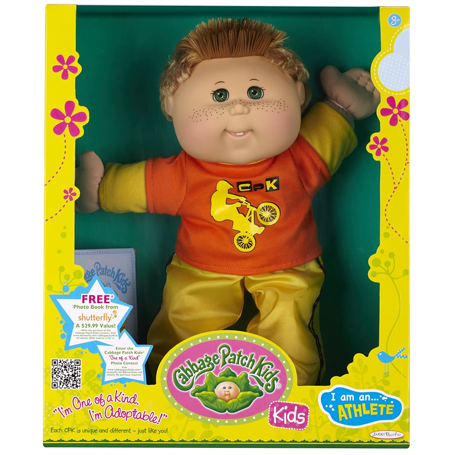 Amazon Cabbage Patch Kids Doll Extreme Sports Caucasian