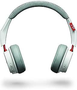 Plantronics Backbeat 505 Wireless Bluetooth Headset, White